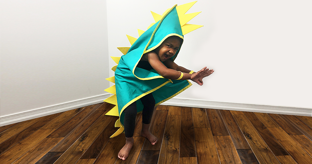 Dinosaur Costume Sewing Project