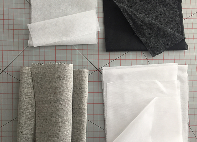 f5b8383c55ca Interfacing gives more durability to your fabric and prevents your project  from stretching or distorting in certain areas. You ll often find  interfacing in ...